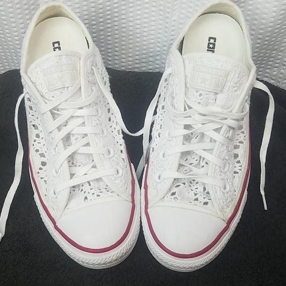 e0bd18e692f5 Converse Shoes - Converse All Star Crochet low rise sneakers